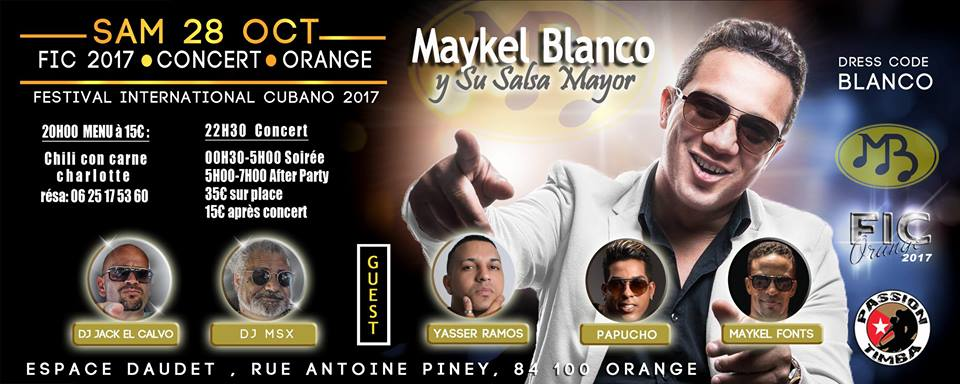 2017 10 28 concert maykel blanco fic affiche