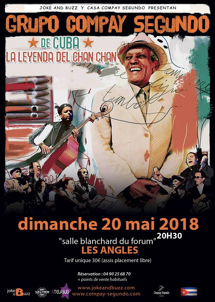 Concert compay segundo 2018 affiche