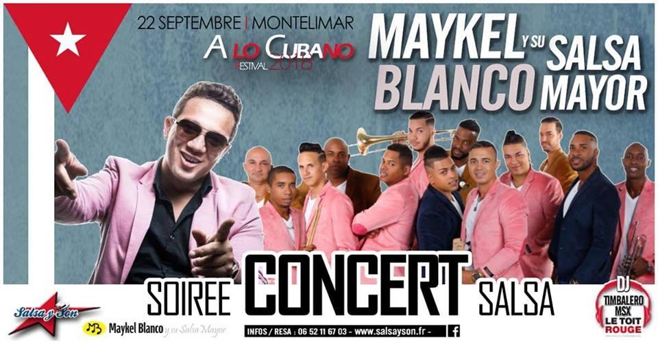 Soiree salsa a lo cubano concert maykel blanco 2018