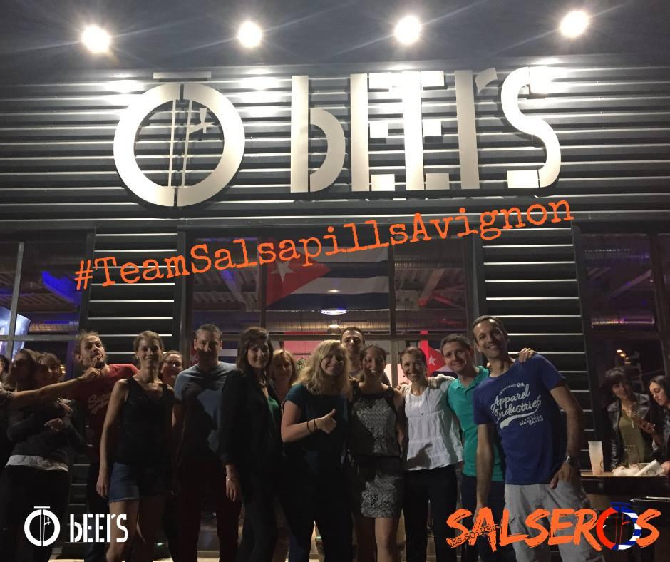Soiree salsa o beers 14 09 2018 team ssp