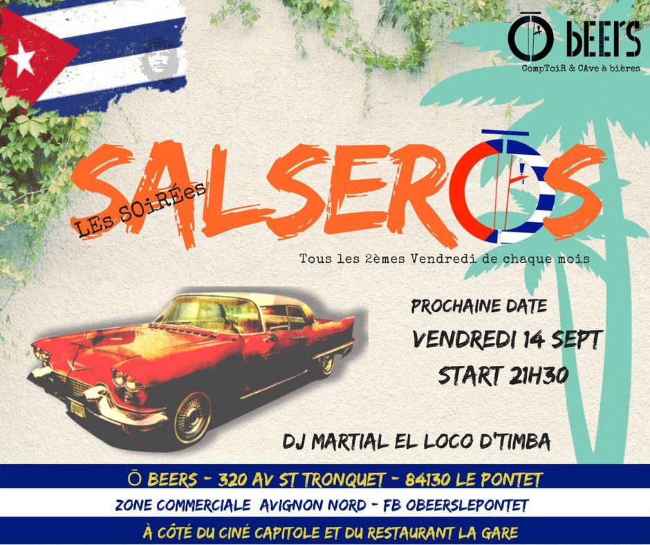 Soiree salsa o beers 14 09 2018