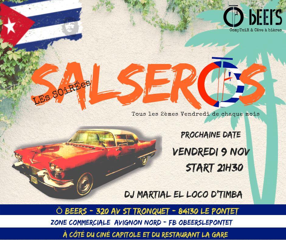 Soiree salsa o beers 2018 11 09