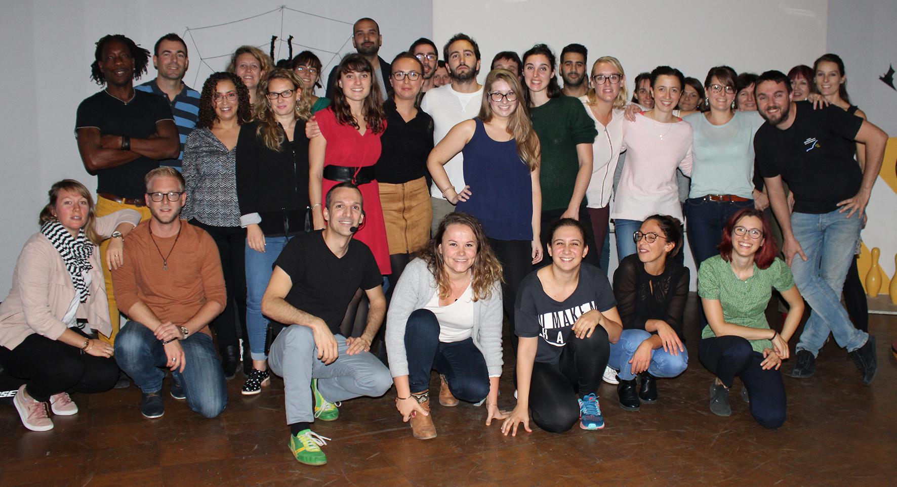 Les adhérents de Salsapills Avignon (2018-2019)